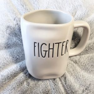 🆕Rae Dunn FIGHTER Ceramic Mug